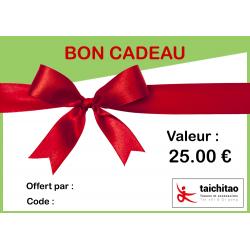 BON CADEAU 25 €