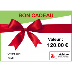 BON CADEAU 120 €